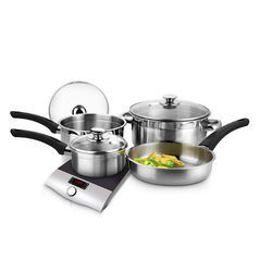 Emerald Cookware Set Of 7 Pcs