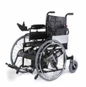 Motorized Dual Drive Wheelchair
