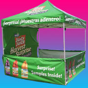 Advertising And Promotional Tents