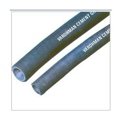 Black Cement Grouting Synthetic Rubber Hose, Length: 3 and 6 m