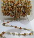 Multi Moonstone Rosary Chain
