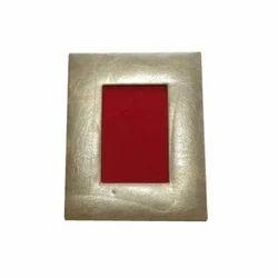 Leather Photo Frame, Size: Custom