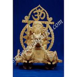 Wooden Ganesha With Kadam Wood