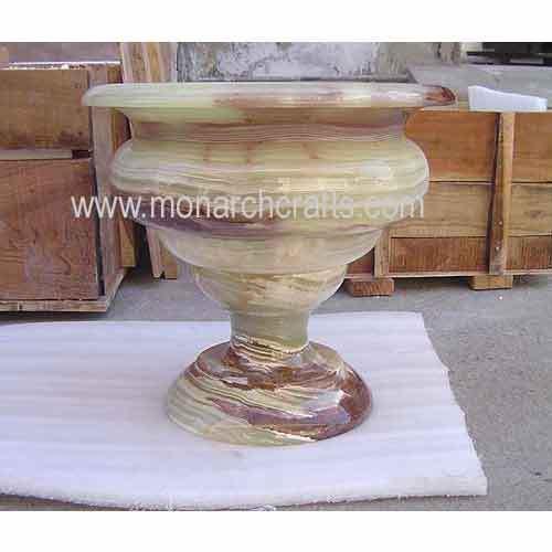 White Marble & Stone Urns