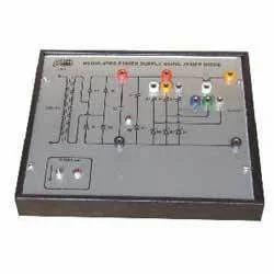 Power Supply Using Zener Diode Trainer
