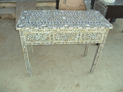 Mother Of Pearl Inlay Writing Desk