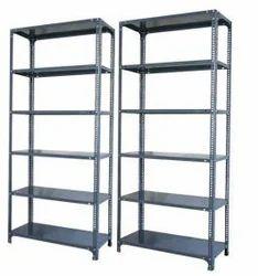 Iron Gray Slotted Angle Rack