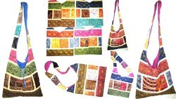 Multicolor Boho Shoulder Bags