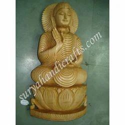 Wooden Antique Buddha Statue