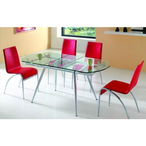 Dining Table Manufacturers: Extension Glass Dining Table Manufacturer