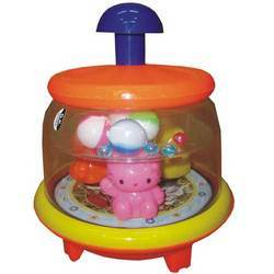 Toys Push N Spin Cat