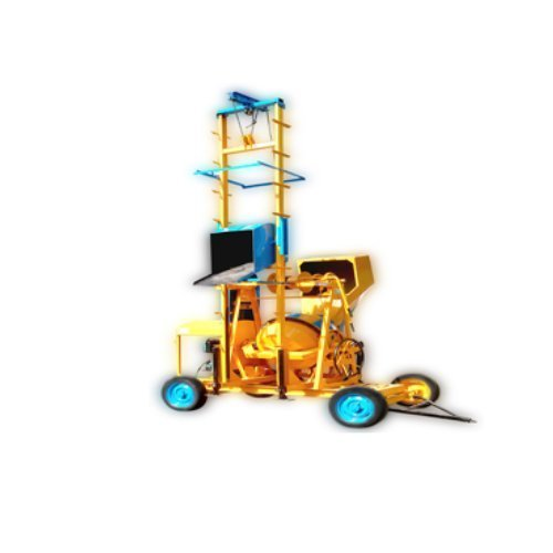 2 Tower Lift Concrete Mixer Machine Price With Hopper
