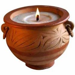 Claypot Candles