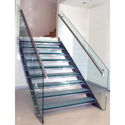 Glass Steel Staircase