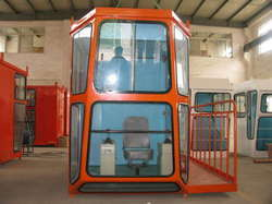 Eot Crane Cabin Glasses With Fitting Services