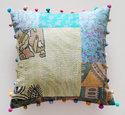 Suzani Quilted Cushion