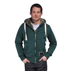 Mens Green Hood