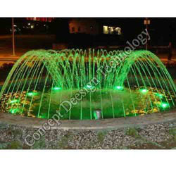 Dome Fountain In Green