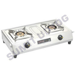 Square Double Burner
