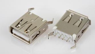 USB Connector - A Type Female Straight