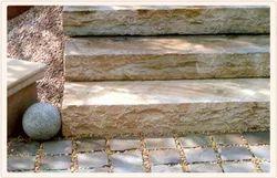 Grey Solid Steps Stone