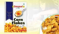 savour 3 Months Corn Flakes, Packaging Type: Packet