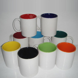 Round Ceramic Coffee Mug, Packaging Type: Box