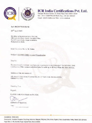 ICR India Certifications Pvt. Ltd.