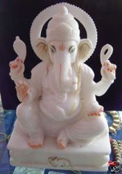 Stone Ganesh Sculpture