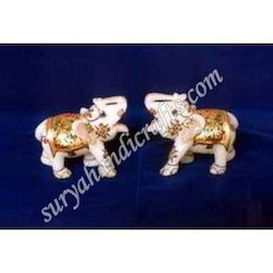 Marble Painting Elephant