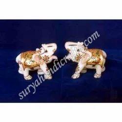 Marble Painting Elephant