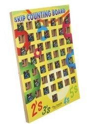 Skip Counting Game With Marbles For Mathematics Kit