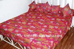 Handmade Tropicana Quilts/  Kantha Quilts