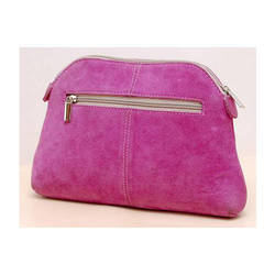 Pink Suede Bags