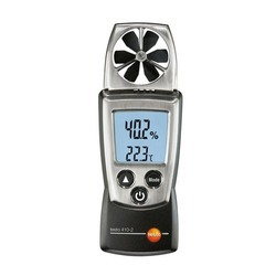 Vane Anemometer With Integrated Humidity Measurement