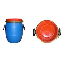HDPE Full Open Top Drums, Capacity: 10 to 100 Liters