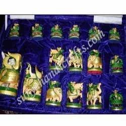 Wooden Golden Chess