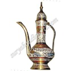 Brass Surai with White Metal Work