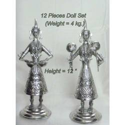 Silver Plated Doll