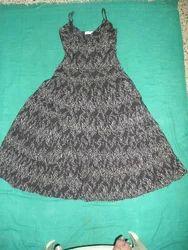 Printed Casual Girls Fancy Dress