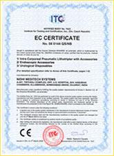 ITC EC Certificates