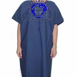 Blue Patient Gown, Size: Small