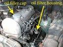 Engine Parts- Oil Filler Caps Rubber/Fiber, Sheet Metal