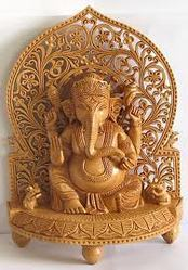 Wooden Ganesh Ji View Specifications Details Of Ganesh Statue By