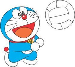Doraemon Sports Tattoo