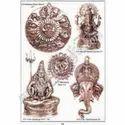 Brass Rassi Wheel Round Kamal Ganesh