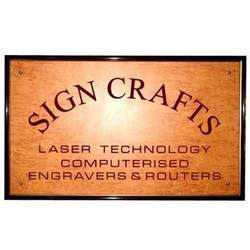 Engraved Name Board