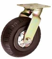 Solid Rubber Tyre Castor Wheel