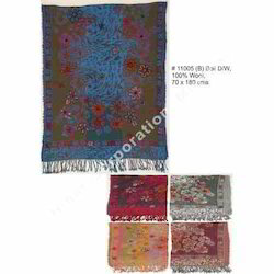 Wool Embroidery Shawls