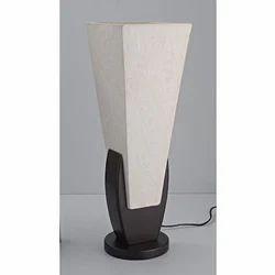 Pecan Table Wooden Lamp